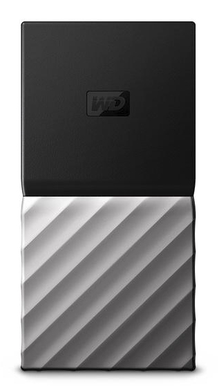 Western Digital My Passport SSD 256 GB Black, Silver