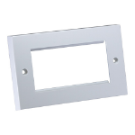 Cablenet Flush Double Gang Faceplate 146mm x 86mm