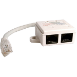 Cablenet 22 2125 White network splitter