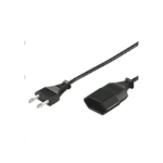 Microconnect PE030850 power extension 5 m 1 AC outlet(s) Black