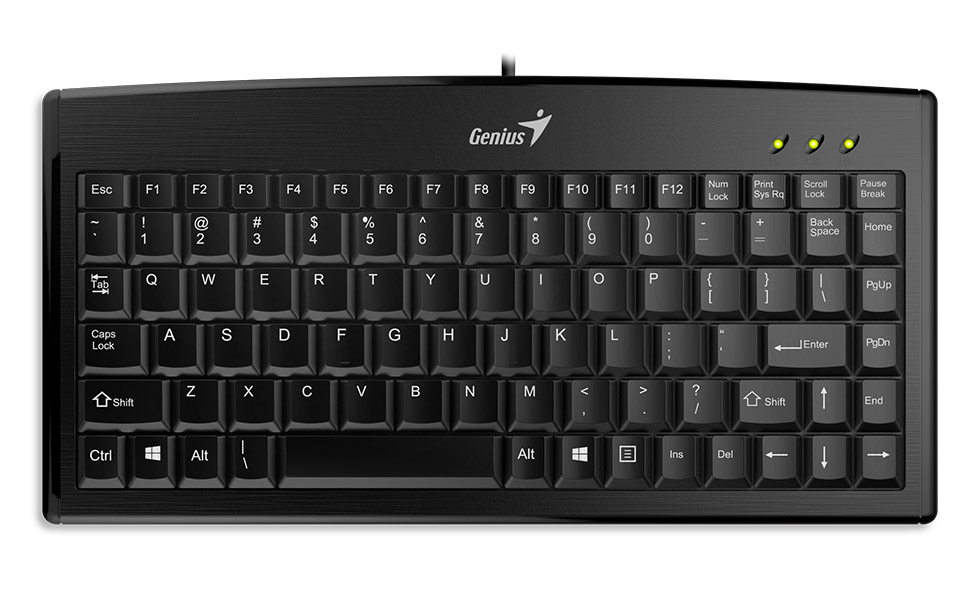 Genius LuxeMate 100 USB Black keyboard