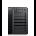 Promise Technology Pegasus32 R6 disk array 48 TB Tower Black