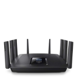 Linksys AC5400 wireless router Tri-band (2.4 GHz / 5 GHz / 5 GHz) Gigabit Ethernet Black