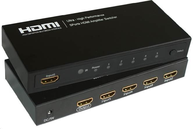 Microconnect MC-HMSW501 HDMI video switch