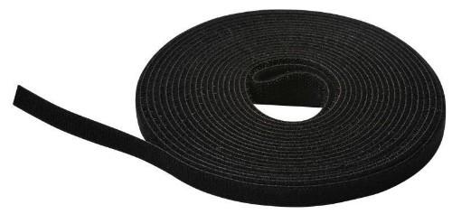 Lanview LVT125466 cable tie Hook & loop cable tie Black 1 pc(s)