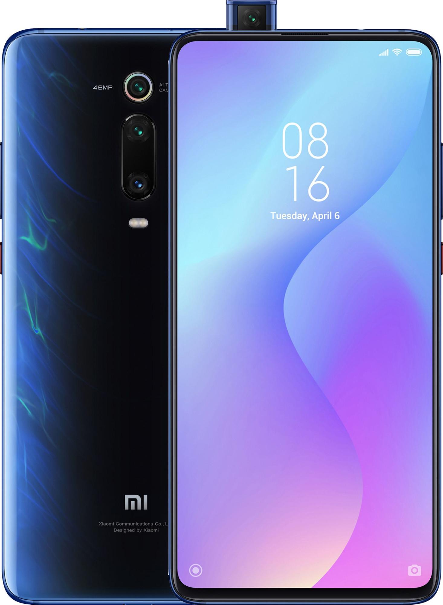 """Xiaomi Mi 9T 16,2 cm (6.39"""") 6 GB 128 GB Dual SIM 4G Blauw 4000 mAh"""