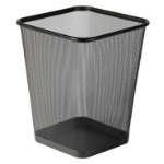 Osco Wiremesh Square Waste Bin Regular 29cm (Black)