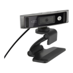 HP HD 4310 1920 x 1080pixels USB 2.0 Black webcam