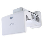 Acer Professional and Education U5320W data projector 3000 ANSI lumens DLP WXGA (1280x800) 3D Wall-mounted projector White