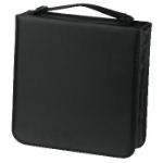 Hama CD Wallet Nylon 208, black 208discs Black