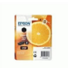 Epson Oranges Singlepack Photo Black 33 Claria Premium Ink