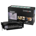 Lexmark 12A8420 Toner black, 6K pages @ 5% coverage
