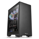 Thermaltake S500 TG Midi-Tower Black,Transparent