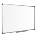 Bi-Office Maya Enamel Whiteboard Aluminium Framed