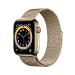 Apple Watch Series 6 44 mm OLED 4G Gold GPS (satellite)