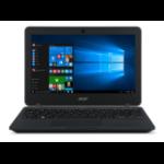 "Acer TravelMate B117-M-C9UR 1.6GHz N3050 11.6"" 1366 x 768pixels Black"