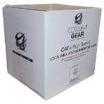 CONNEkT Gear 305m Solid CAT6 UTP LS0H Network Cable Drum 23-AWG - Grey
