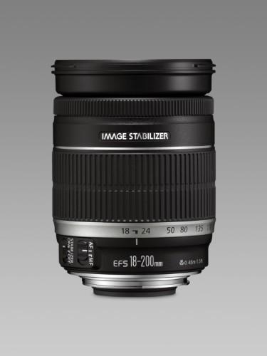 Canon EF-S 18-200mm f/3.5-5.6 IS SLR Black