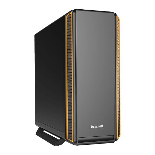 be quiet! Silent Base 801 Midi-Tower Black,Orange