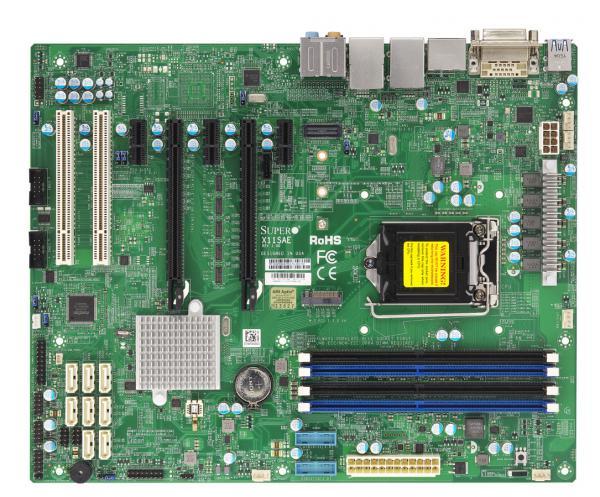 Supermicro X11SAE server/workstation motherboard LGA 1151 (Socket H4) Intel® C236 ATX