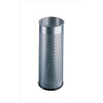 Durable Umbrll StdMetRndSlv28.5L 3350/23