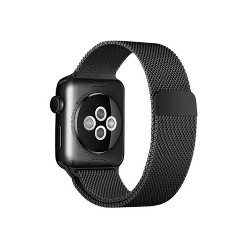 Apple 38mm Milanese Loop - Watch strap - space black - for Watch (38 mm)