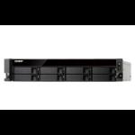 QNAP TS-863XU-RP Ethernet LAN Rack (2U) Black NAS
