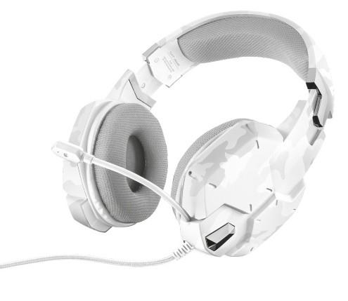 Trust GXT 322W Auriculares Diadema Blanco