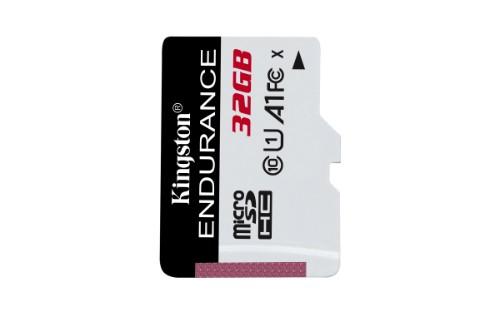 Kingston Technology High Endurance memory card 32 GB MicroSD Class 10 UHS-I