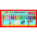 STABILO woody 3 in 1 colour pencil 18 pc(s) Multi