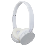 M-Cab 7002204 mobile headset Binaural Head-band White Wireless