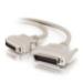 C2G 5m IEEE-1284 DB25/MC36 Cable cable de impresora Gris