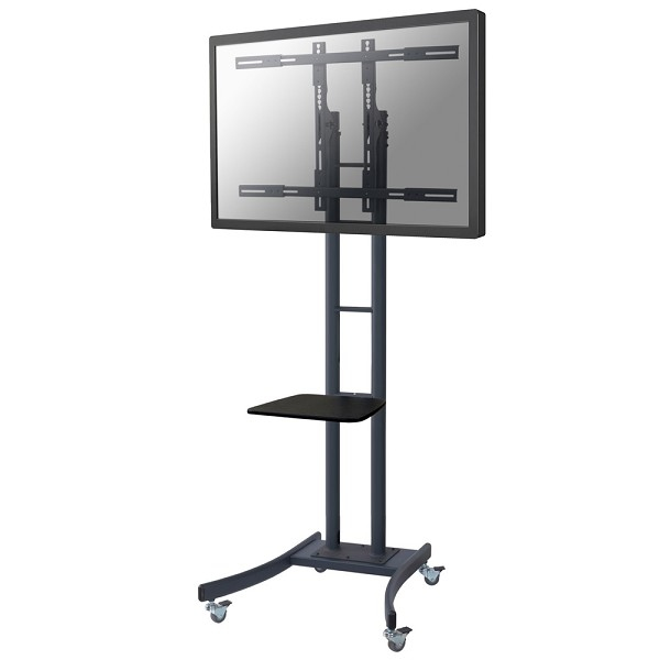 "Newstar PLASMA-M2000E 85"" Portable flat panel floor stand Black flat panel floorstand"