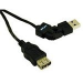 C2G 2m FlexUSB 2.0 A/A Cable USB cable USB A Black