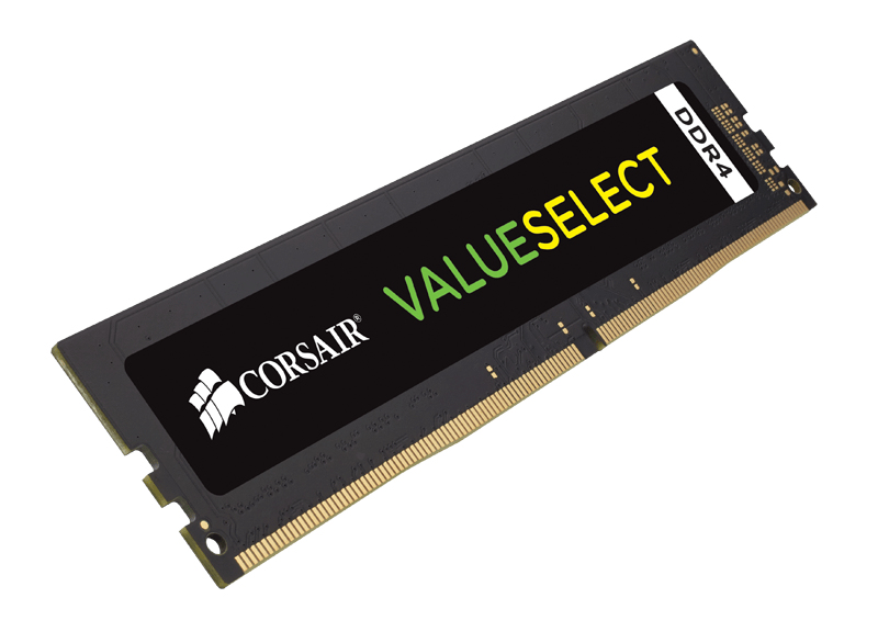 Corsair ValueSelect 8 GB, DDR4, 2666 MHz memory module