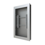 "Peerless KIP646-EUK flat panel wall mount 116.8 cm (46"") Black"
