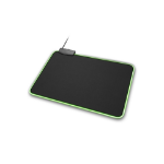 Sharkoon 1337 RGB L Black Gaming mouse pad