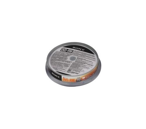 Sony DVD-RW (REWR.) 4X SPINDLE 10PCS