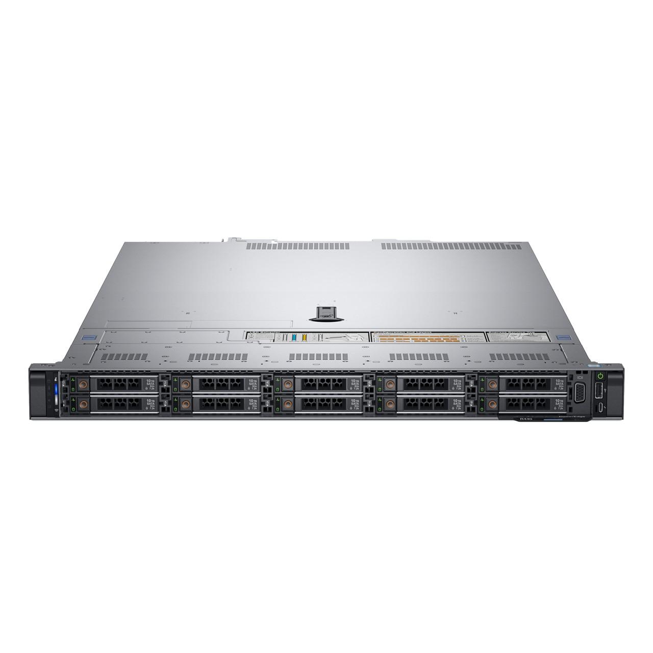DELL PowerEdge R440 server 2.1 GHz Intel® Xeon® 4110 Rack (1U) 550 W