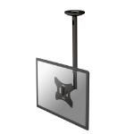 "Newstar FPMA-C060BLACK - 50-85cm height adjustable flat panel ceiling mount - up to 40"""