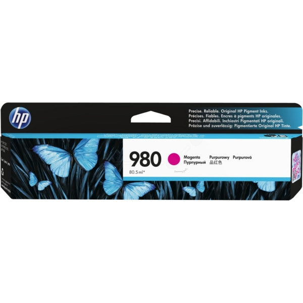 HP D8J08A (980) Ink cartridge magenta, 6.6K pages, 81ml