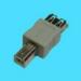 Microconnect Adapter USB A - B F-M