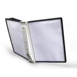 Durable Sherpa Wall 5 document display carousel Portrait A4