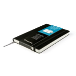 Livescribe Notebook by Moleskine #2 240sheets Black writing notebook