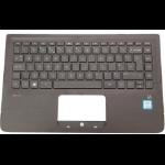 HP 809829-071 Housing base + keyboard notebook spare part
