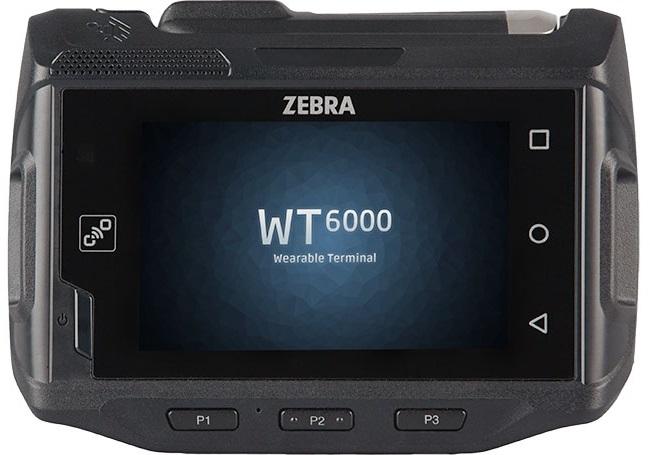 "Zebra WT6000 ordenador móvil industrial 8,13 cm (3.2"") 800 x 480 Pixeles Pantalla táctil 245 g Negro"