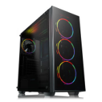 GAMEMAX Crusader RGB Mid Tower Chassis Tempered Glass 4x ARGB 120mm Fans Radiator Support ATX/MicroATX/Mini-