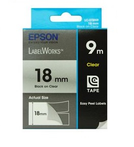 Epson C53S626101 Black label-making tape