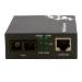 MCL ETS-GTF/SC-POE convertidor de medio 1000 Mbit/s Negro