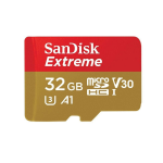 Sandisk Extreme memory card 32 GB MicroSDXC Class 10 UHS-I SDSQXAF-032G-GN6GN